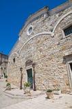 Cattedrale della st Nicola. Sant'Agata di Puglia. La Puglia. L'Italia. Fotografie Stock Libere da Diritti