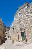 Cattedrale della st Nicola. Sant'Agata di Puglia. La Puglia. L'Italia. Fotografia Stock