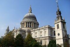 Cattedrale della st Paul Fotografia Stock