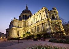 Cattedrale della st Paul - grandangolare Fotografia Stock Libera da Diritti