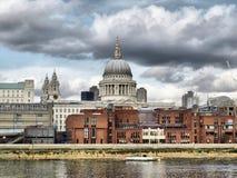 Cattedrale della st Paul, Londra Fotografie Stock