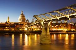 Cattedrale della st Paul a Londra Fotografia Stock