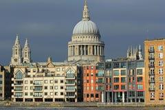 Cattedrale della st Paul, Londra Fotografia Stock