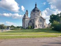 Cattedrale della st Paul Minnesota fotografie stock