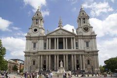 Cattedrale della st Paul´s Fotografie Stock Libere da Diritti