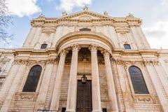 Cattedrale della st Pauls a Londra Fotografie Stock Libere da Diritti