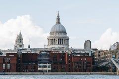 Cattedrale della st Pauls a Londra, Regno Unito Immagine Stock Libera da Diritti