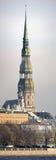 Cattedrale della st Peter, Riga (Latvia) Immagine Stock