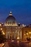 Cattedrale della st Peter, Roma, Italia immagini stock libere da diritti