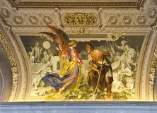 Cattedrale della st Peter a Vatican Immagine Stock Libera da Diritti
