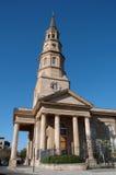 Cattedrale della st Phillip di Charleston Immagine Stock