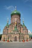 Cattedrale della st Sophia di Harbin, Cina Immagini Stock