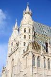 Cattedrale della st Stephan nel centro di Vienna Immagini Stock