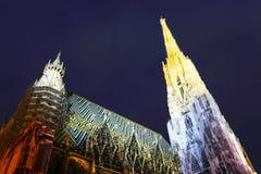 Cattedrale della st Stephan a Vienna Fotografia Stock Libera da Diritti