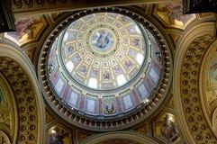 Cattedrale della st Stephans a Budapest Ungheria Fotografia Stock Libera da Diritti