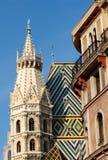 Cattedrale della st Stephen, Vienna fotografia stock
