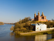 Cattedrale della st Uspenski fotografie stock libere da diritti