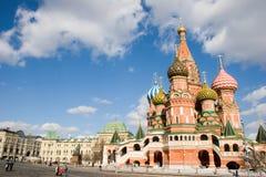 Cattedrale della st Vasil sul quadrato rosso Immagine Stock Libera da Diritti
