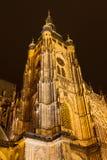 Cattedrale della st Vitus Fotografia Stock