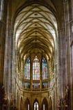Cattedrale della st Vitus nel castello di Praga Immagini Stock Libere da Diritti