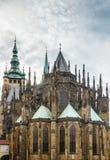 Cattedrale della st Vitus, Praga Fotografia Stock Libera da Diritti