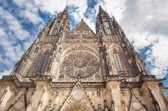 Cattedrale della st Vitus, Praga Immagini Stock Libere da Diritti