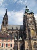 Cattedrale della st Vitus a Praga Immagine Stock