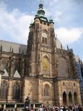 Cattedrale della st Vitus a Praga Fotografie Stock