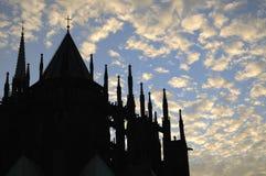 Cattedrale della st Vitus a Praga. Immagini Stock Libere da Diritti