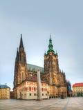 Cattedrale della st Vitus a Praga a Praga Fotografia Stock Libera da Diritti