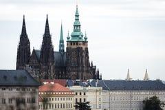 Cattedrale della st Vitus a Praga, Repubblica ceca Fotografia Stock