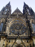 Cattedrale della st Vitus a Praga, Repubblica ceca Immagini Stock Libere da Diritti