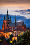 Cattedrale della st Vitus, Praga, repubblica ceca Immagine Stock