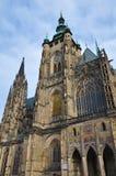 Cattedrale della st Vitus, Vaclav e Voiteha. Praga Immagini Stock Libere da Diritti