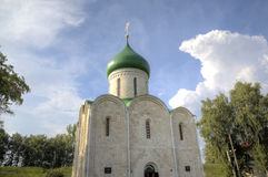 Cattedrale della trasfigurazione Pereslavl, Russia Fotografia Stock