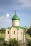 Cattedrale della trasfigurazione Pereslavl, Russia Immagini Stock