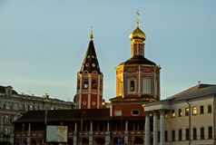 Cattedrale della trinità santa immagini stock