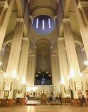 Cattedrale della trinità santa di Tbilisi Fotografia Stock Libera da Diritti