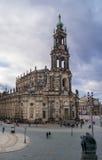 Cattedrale della trinità santa Dresda, Germania Immagine Stock
