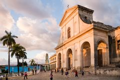 Cattedrale della trinità santa, Trinidad, Cuba immagine stock libera da diritti