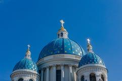 Cattedrale della trinit?, San Pietroburgo a St Petersburg fotografie stock libere da diritti