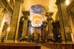 Cattedrale della vista dell'interno di Vic Fotografia Stock