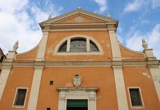 Cattedrale di Aiaccio fotografie stock