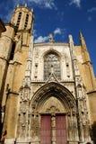 Cattedrale di Aix en Provence Immagine Stock Libera da Diritti