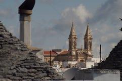 Cattedrale di Alberobello Immagine Stock Libera da Diritti