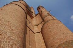 Cattedrale di Albi (Francia) Fotografie Stock