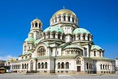 Cattedrale di Aleksander Nevski Fotografie Stock