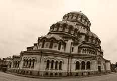Cattedrale di Alexandar Nevski del san Fotografia Stock Libera da Diritti