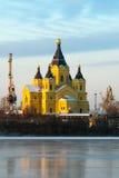 Cattedrale di Alexander Nevskiy Immagini Stock