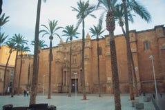 Cattedrale di Almeria Cathedral dell'incarnazione di Almeria a Fotografie Stock